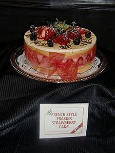 French style Fraiser Strawberry Cake