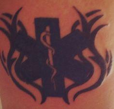 Star of life Tattoo EMS   tattoos picture tattoos of stars