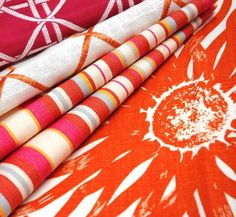 Love these fun fabric colors! So great for the summer