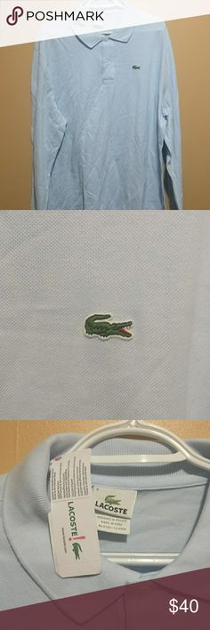 Lacoste polo Lacoste long sleeve polo shirt brand new with tags Lacoste Shirts Tees - Long Sleeve