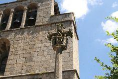Arlempdes: dorp op vulkanische rots boven de Loire ***   Dorpen in Frankrijk Auvergne