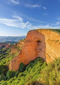 """Las Medulas"" ancient Roman mines, Leon, Spain."