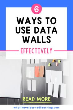 Do you use a data wall in your classroom? Displaying and working with students on their own data can be powerful, but it also must be done in an anonymous way so that all students collectively come together to raise each other up. Here are some examples of data walls that are appropriate for elementary classrooms.