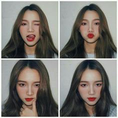 Most Beautiful Share the beauty and love Ulzzang Korean Girl, Cute Korean Girl, Asian Girl, Portrait Photography Poses, Photography Poses Women, Girl Photo Poses, Girl Photos, Moda Ulzzang, Korean Makeup Look