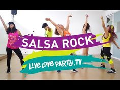Salsa Rock | Zumba® | Live Love Party | Dance Fitness - YouTube