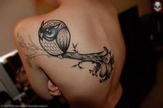 Cutest owl tattoo