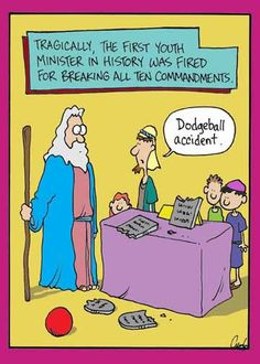Biblical Farside Cartoons