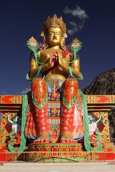 Maitreya in Ladakh, India