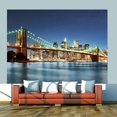 New York Manhattan Gratte-Ciel PHOTO PAPIER PEINT MURAL NOIR /& BLANC 335X236cm