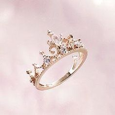 Princess Crown Ring - how unique and beautiful!