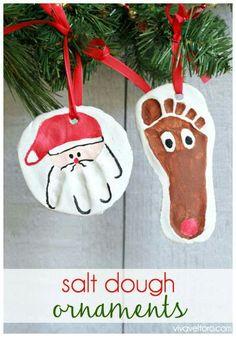 Handprint/footprint ornament