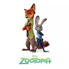 Judy Hopps and Nick Wilde (Zootopia) Drag Me Down Disney Pixar, Disney Wiki, Arte Disney, Disney And Dreamworks, Disney Movies, Disney Stuff, Disney Parks, Zootopia 2016, Zootopia Art