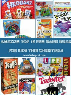 10 Fun Games For Kids This Christmas - The Homeschool Post
