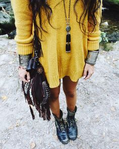 """This is serious outfit inspiration. #vintagechameleon #bohemian"""