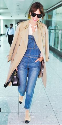 want an overall just like that! and the trenchcoat !! Pretty please :)))