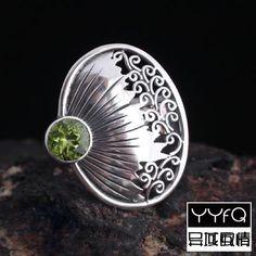 silver moonstone nepal ring