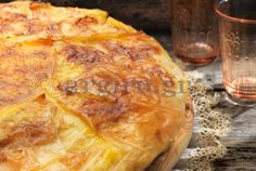 Greek Sweets, Greek Desserts, Greek Recipes, Cookie Dough Pie, Greek Pastries, Puff Pastry Desserts, Savoury Baking, Food Categories, Sweets Recipes