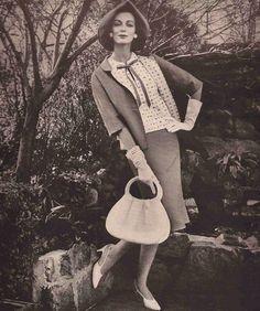 Wilhelmina Cooper  Moygashel Advertisement, 1959