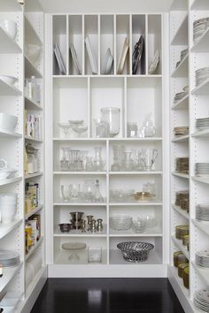 kitchen pantry storage In any organizing project, you are going to need to adjust and adapt your strategies over time. Today I'm sharing my revised top ten pantry organization id Pantry Storage, Pantry Organization, Kitchen Storage, Organized Pantry, Pantry Ideas, Dish Storage, Kitchen Shelves, Storage Room, Budget Storage