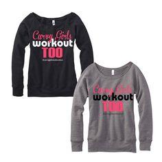 Curvy Girl Sweatshirts & Hoodies / Curvy Girls Workout Too