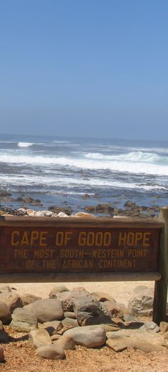 South Africa. Cape Peninsula. Cape of Good Hope.
