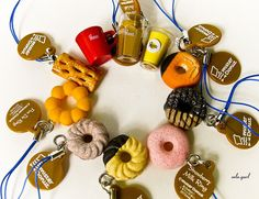 Mister donut charms
