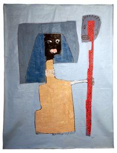Le trait : :: Amadou Sanogo :: artiste plasticien - Bamako - Mali