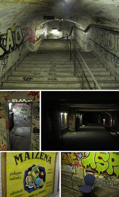Référent_Martin DELREE saint martin ghost station paris Exploring the Paris Metros Eerie Ghost Stations Abandoned Buildings, Abandoned Places, Underground Paris, Metro Paris, Abandoned Train Station, Trains, Disused Stations, Tunnel Of Love, Places