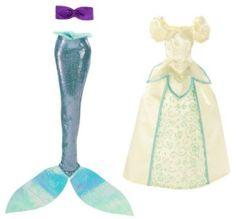 Disney Sparkle Princess Doll Clothes – Ariel Fashion