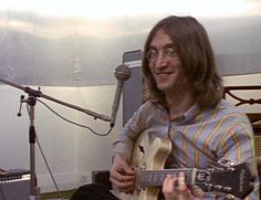 1969 - John Lennon, sessions for Let It Be album.