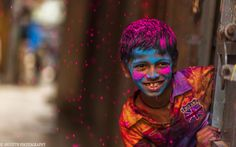 Holi is a spring festival in India and Nepal, also known as the festival of colours or the festival of sharing love Festival Photography, Rain Photography, Creative Photography, Street Photography, Portrait Photography, Inspiring Photography, Photography Tutorials, Beauty Photography, Photography Ideas
