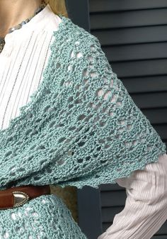 free crochet shawl pattern... the actual pattern is here from Naturally Caron. http://www.naturallycaron.com/projects/oasis/oasis_4.html