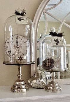 Lovely way to display your treasures