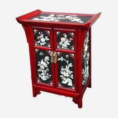 Chinese Oriental Decorative Furniture Cabinet Storage |