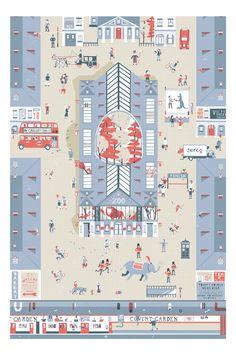 Serco Competition by Stuart Hill Illustration, via Behance
