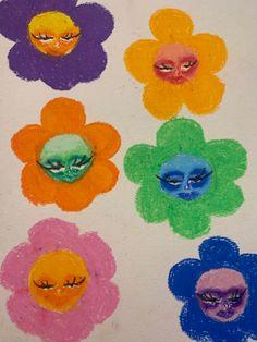 Indie Drawings, Art Drawings Sketches, Cool Drawings, Pretty Art, Cute Art, Arte Grunge, Oil Pastel Art, Art Diary, Indie Art