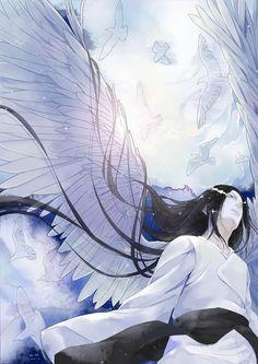 Neji foi pro céu e virou o anjo da guarda da família dele.