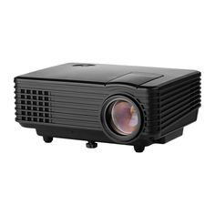 FastFox Mini Video Projector LCD 800x480 Home Theater Movie Black Color
