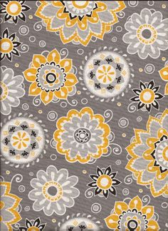 Gray and yellow floral fabric gray matters camelot cottons fat fabric gray and yellow floral fabric by the yard quilt fabric apparel fabric home decor fabric fat quarter craft fabric fat quarters mightylinksfo
