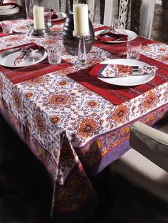 home linen for the perfect #dinner #party