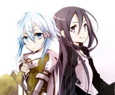 Sinon and Kirito