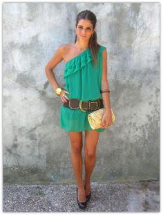 love this dress!  Art Symphony: Off the Shoulder Tops & Dresses