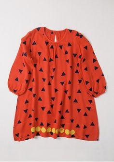 bobochoses Dress LS Triangles