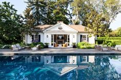 If I had a pool house.....REDD RESTRAINT   Mark D. Sikes: Chic People, Glamorous Places, Stylish Things