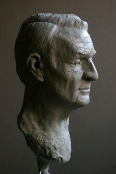 Head Sculpture of Bill Andrews by Michael Shane Neal