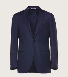 Blue multi pocket travel jacket | Zegna Travel Essentials 01