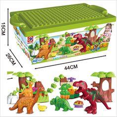 $19.77 (Buy here: https://alitems.com/g/1e8d114494ebda23ff8b16525dc3e8/?i=5&ulp=https%3A%2F%2Fwww.aliexpress.com%2Fitem%2F40Pcs-Lot-Dino-Valley-Building-Blocks-Sets-Large-particles-Animal-Jurassic-World-Model-toys-Bricks-Duploe%2F32697453577.html ) 40Pcs/Lot Dino Valley Building Blocks Sets Large particles Animal Jurassic World Model toys Bricks Duploe for just $19.77