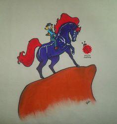 7 Melhores Imagens De Sarah E O Cavalo De Fogo Desenhos Antigos