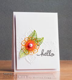 Featuring Penny Black stamps and dies... click through for supplies and instructions