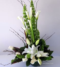 The beauty of calla lilies in design is endless.